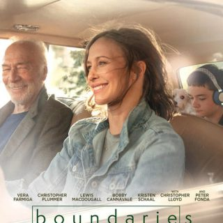 "Poster for the movie ""Boundaries"""