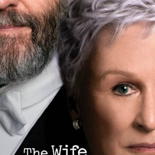 "Poster for the movie ""The Wife"""