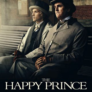 "Poster for the movie ""The Happy Prince"""