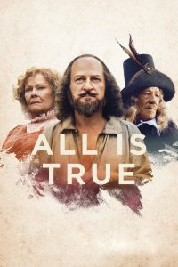 """Poster for the movie """"All Is True"""""""
