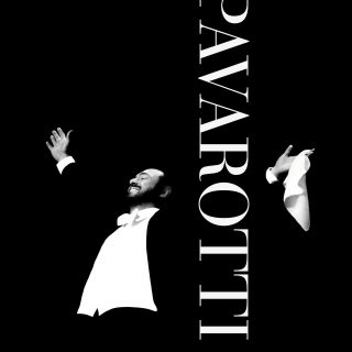 "Poster for the movie ""Pavarotti"""