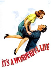 "Poster for the movie ""It's a Wonderful Life"""