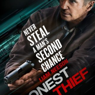 "Poster for the movie ""Honest Thief"""