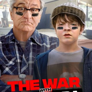 "Poster for the movie ""The War with Grandpa"""