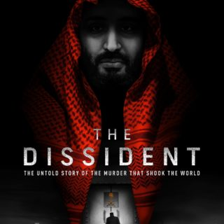 """Poster for the movie """"The Dissident"""""""