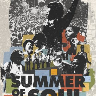"""Poster for the movie """"Summer of Soul (...or, When the Revolution Could Not Be Televised)"""""""
