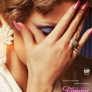 """Poster for the movie """"The Eyes of Tammy Faye"""""""