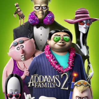 """Poster for the movie """"The Addams Family 2"""""""